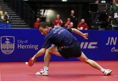 Tan Ruiwu (CRO). Playing at the 2012 European Table Tennis Championships,17-21 October 2012,Herning,DEN Stock Image
