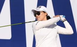 Tan ryu del yeon en el torneo 2015 del golf de la inspiración de la ANECDOTARIO Foto de archivo libre de regalías