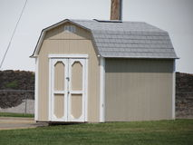 Tan shed Stock Photography