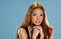 Tan skin girl Stock Photo