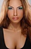 Tan skin girl Royalty Free Stock Photos