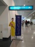 Tan Son Nhat International Airport dans Saigon, Vietnam Image libre de droits