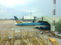 Tan Son Nhat International Airport Vietnam Royaltyfria Bilder