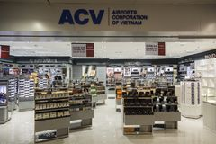 Tan Son Nhat International Airport, Vietname Foto de Stock Royalty Free