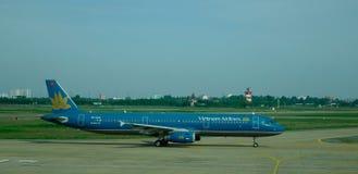 Tan Son Nhat Intl Airport in Saigon, Vietnam stock afbeelding
