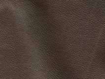 Tan suede with stitching Royalty Free Stock Photos