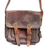 The tan vintage bag Stock Image