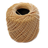 Tan Yarn spool Royalty Free Stock Photo