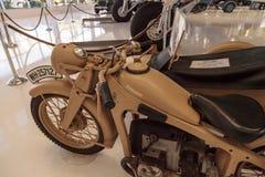 Tan Zundapp摩托车 库存图片