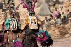 tana dogon Mali maskowy satibe Obraz Royalty Free