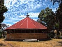Tana Haik Eysus Zlany monaster na Jeziornym Taniec w Etiopia obrazy stock