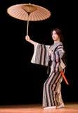tana japończyka występ Obraz Stock