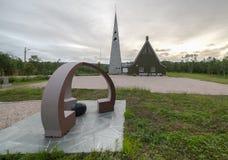 Tana-Kirche im Sommer Stockbild