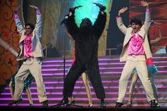tana przedstawienie indyjski muzyczny zdjęcie stock