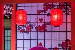 Tanabata festival Royaltyfri Fotografi