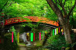 Tanabata festival in Japan. Royalty Free Stock Photography