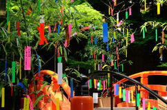 Tanabata festival in Japan. Stock Image