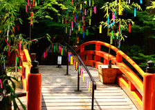 Tanabata festival in Japan. Stock Photography