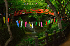 Tanabata festival in Japan. Stock Images