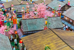 Tanabata Festival. royalty free stock photography