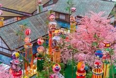 Tanabata Festival. Royalty Free Stock Photo
