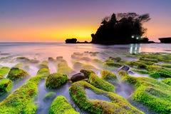 Tanah全部印度寺庙-巴厘岛 免版税图库摄影