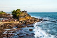 Tanah全部寺庙巴厘岛印度尼西亚 免版税库存照片