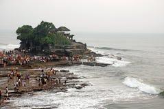 Tanah全部,巴厘岛,印度尼西亚。 免版税库存照片