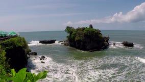 Tanah全部水寺庙在巴厘岛 影视素材