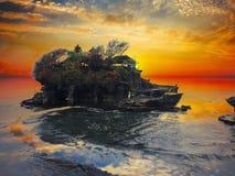 Tanah全部-巴厘岛,印度尼西亚 图库摄影