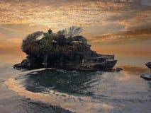 Tanah全部-巴厘岛,印度尼西亚 免版税库存照片