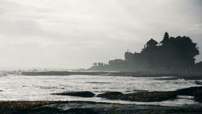 Tanah在巴厘岛印度尼西亚的全部寺庙 影视素材