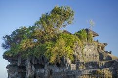 Tanah批次寺庙在巴厘岛印度尼西亚 库存照片
