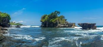 Tanah批次寺庙在巴厘岛印度尼西亚 免版税库存图片