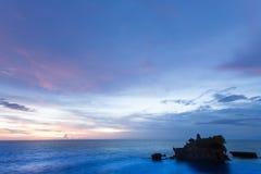 Tanah批次寺庙在巴厘岛 库存图片