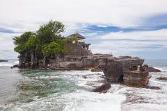 Tanah批次寺庙巴厘岛印度尼西亚 库存照片
