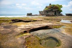 Tanah批次寺庙,巴厘岛,印度尼西亚。 免版税库存图片