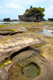 Tanah批次寺庙,巴厘岛,印度尼西亚。 库存图片