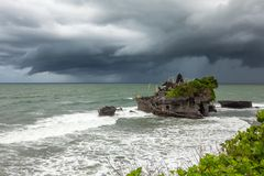 Tanah批次寺庙,巴厘岛,印度尼西亚 图库摄影