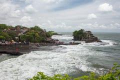 Tanah批次寺庙,巴厘岛,印度尼西亚 免版税库存图片