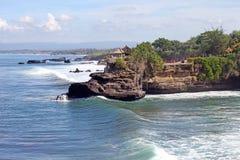 Tanah批次寺庙,巴厘岛,印度尼西亚 免版税库存照片