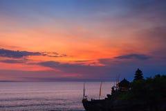 Tanah批次寺庙,巴厘岛,印度尼西亚 免版税图库摄影
