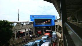 Tanah Abang Skybridge στοκ εικόνες