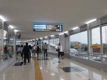 Tanah Abang station, Jakarta arkivfoto