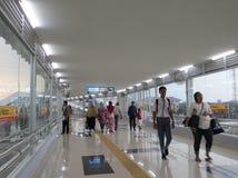 Tanah Abang station, Jakarta fotografering för bildbyråer