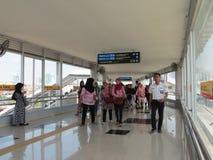 Tanah Abang Station, Jakarta Royalty Free Stock Photos