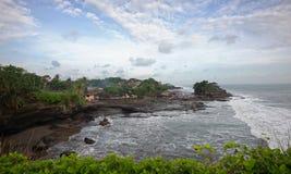 Tanah Loh (God of the sea temple) in bali island Stock Photo