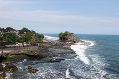 Tanah-Los in schöner Ansicht Balis Lizenzfreies Stockbild