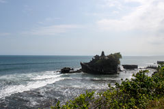 Tanah-Los-Tempel ist einer von Bali's die meisten wichtigen Marksteine Lizenzfreies Stockbild