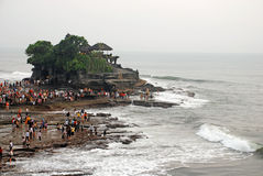 Tanah Lot, Bali, Indonesia. Royalty Free Stock Photo